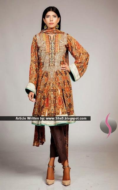 Fahad Hussayn Luxury Formals for Eid-2015