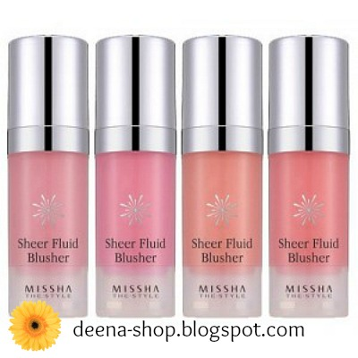 MISSHA Sheer Fluid Blusher
