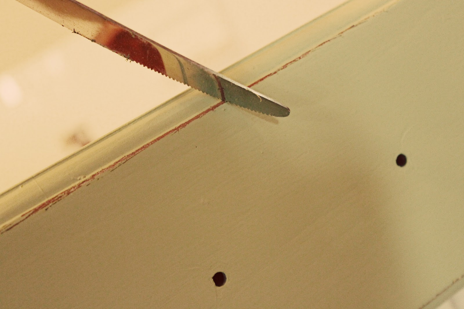 The Everything Soap Blog: DIY - Painting & Distressing Wood Furniture