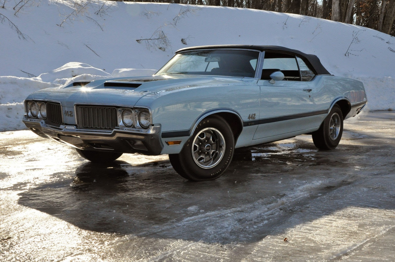 All American Classic Cars 1970 Oldsmobile 4 2 Door Convertible Ford Thunderbird