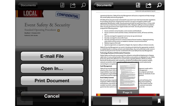 Adobe Launches Adobe Reader For iOS, Application