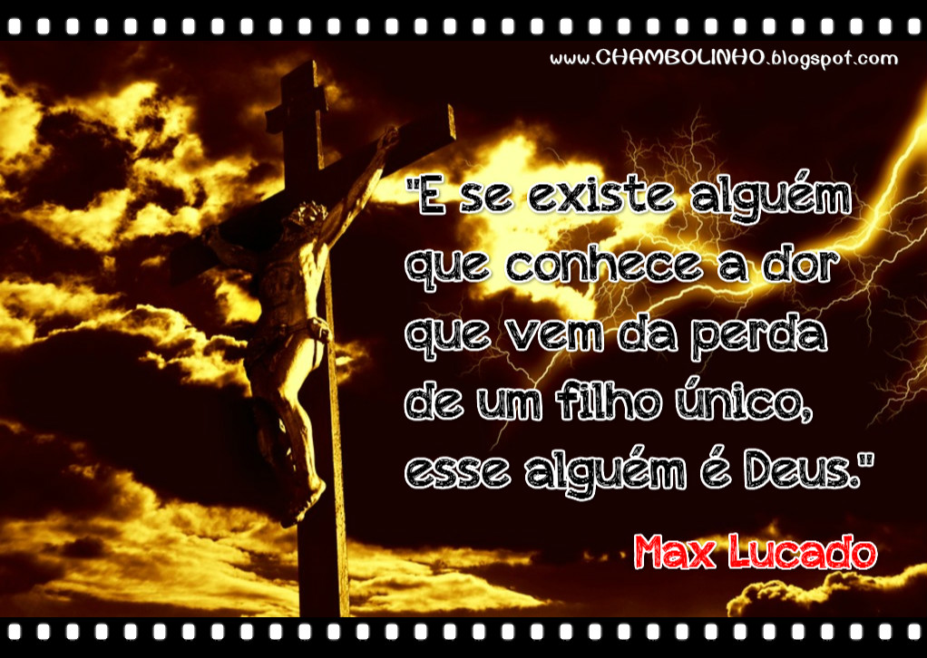 Frase Max Lucado Recadinho de Páscoa