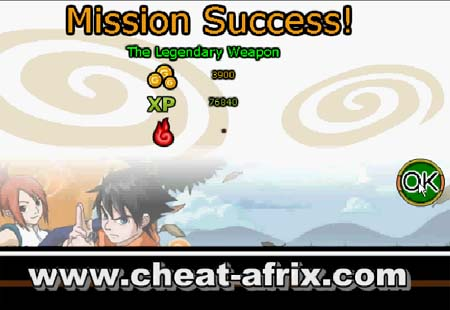 Cheat Ninja Saga Gold + Exp Fast