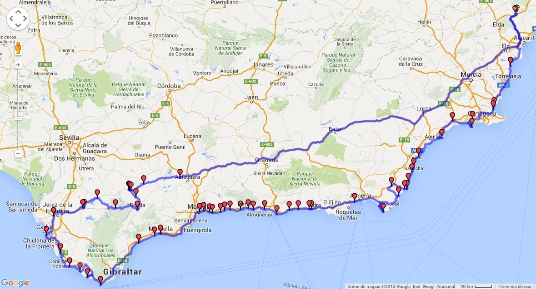 2 sobre ruedas ruta por andalucia - Ruta por andalucia ...
