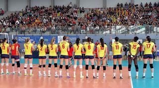 VOLEIBOL - Francia, Azerbaiyán y Montenegro, rivales de España para la Liga Europea de voleibol