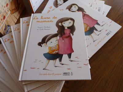 Le livre de maman d'Ingrid Chabbert et Cécile Bondon / Jeunesse - Voir la présentation détaillée : histoire, extraits, photos, auteure, fond d'écran, ...