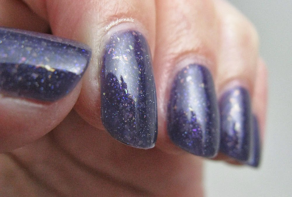 Lacquer Legion March Challenge Lucky Franken Femme Polish