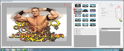 tutorial photoshop kartun john cena