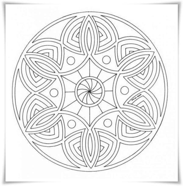 Malvorlagen kostenlos malen auf JetztMalen de - Malvorlagen Kostenlos Mandalas
