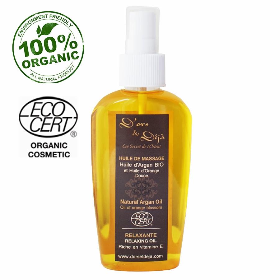 huile relaxante pour le massage du corps