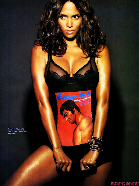 Halle Berry in Magazine