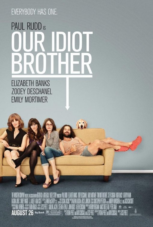 Our Idiot Brother affiche