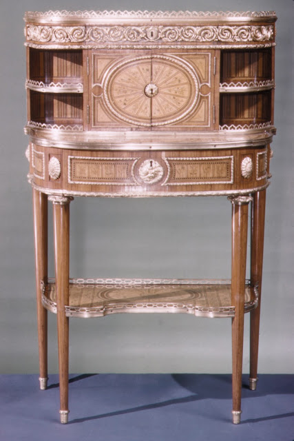 Desk (Bonheur Du Jour), Attributed to Roger Vandercruse called Lacroix , ca. 1780–90