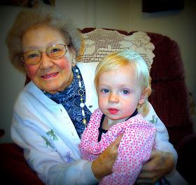 My grandma Evelyn Mae