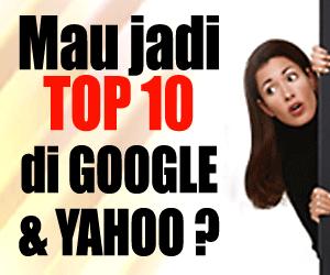 Mau Page One di Google