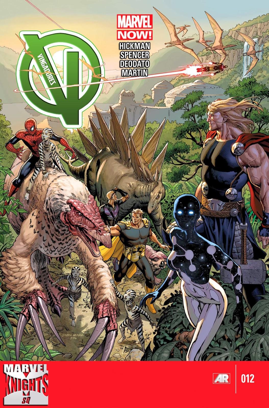 Nova Marvel! Vingadores v5 #12