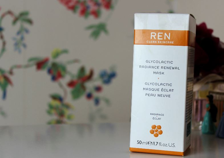 Review | REN Glycolactic Radiance Renewal Mask