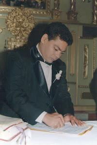 Mi amor firmando su sentencia