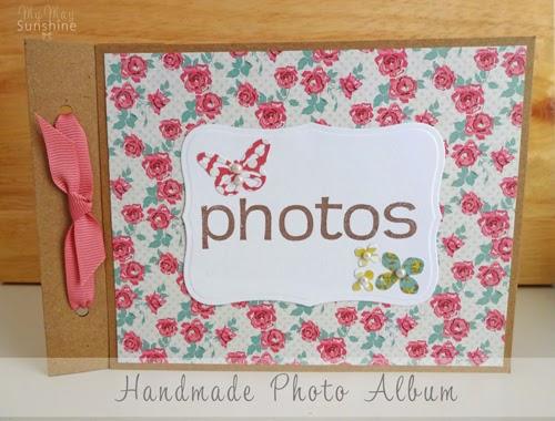 handmade photo album my may