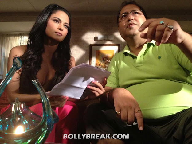 Veena Malik New Movie - Supermodel movie set pics
