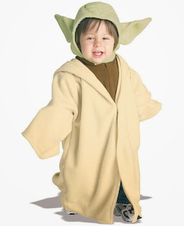 Star Wars Yoda Fleece Infant / Toddler Costume