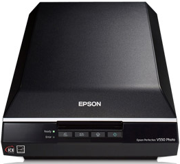 Epson Perfection V550 Photo Colour Scanner Review