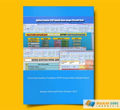 Download Aplikasi Penilaian KTSP Semua Kelas Sekolah Dasar dengan Microsoft Excel Terbaru 2015
