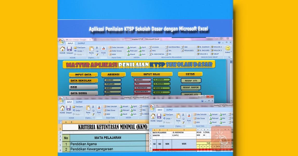Download Aplikasi Penilaian Ktsp Semua Kelas Sekolah Dasar