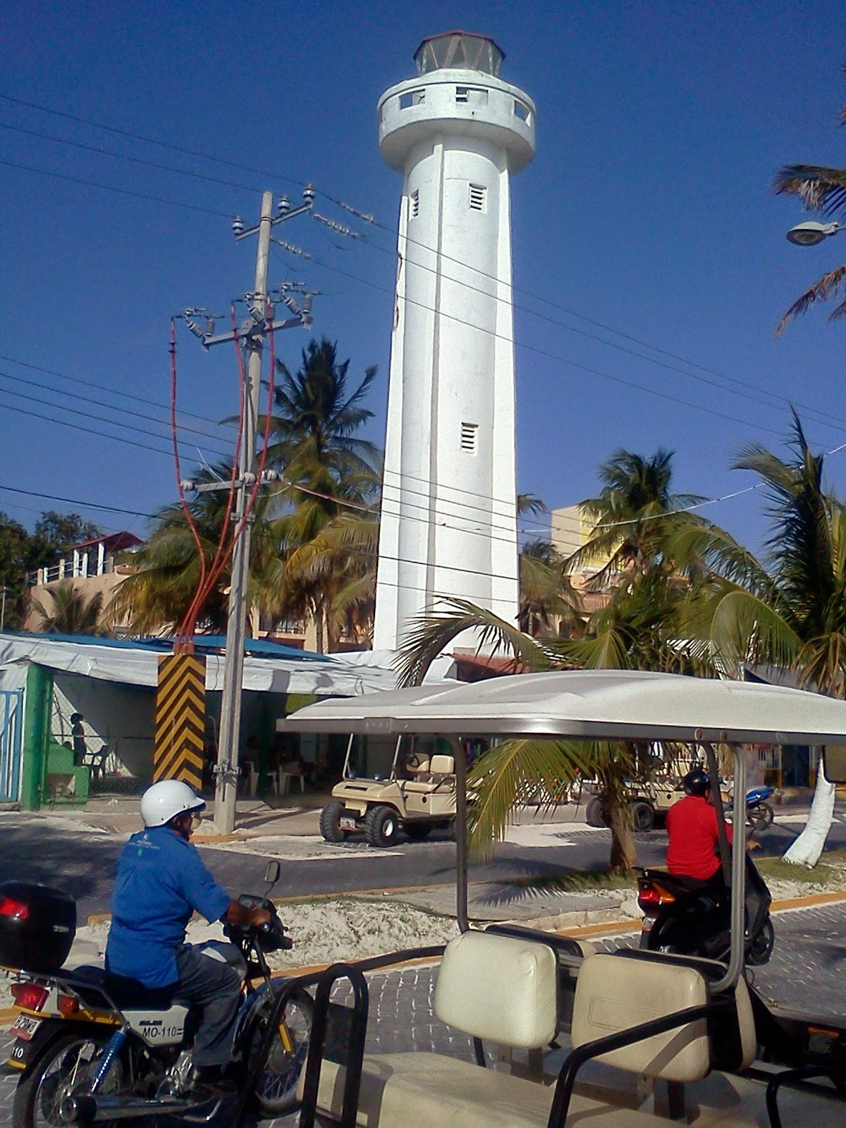 Lighthouse on Isla Mujeres