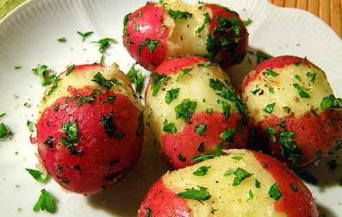 Parsley Potato Closeup