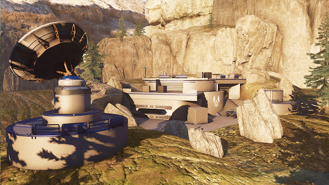 Halo 5: Guardians free map big team battles deadlock