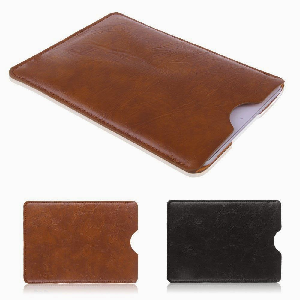 "Leather Sleeve Bag Case Cover Pouch for 7"" inch MID Tablet iPad Mini & 2 Retina"