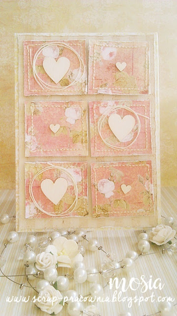 serduszka, róże i patchwork / hearts, roses and patchwork