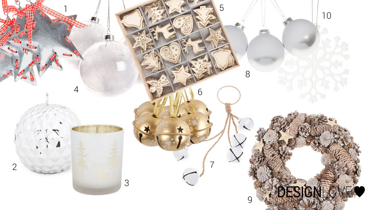 One Hundred Christmas Decorations Design Love Blog
