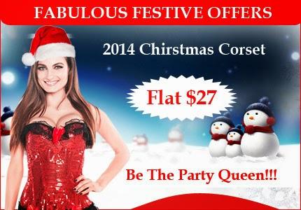 Women's Christmas Corset