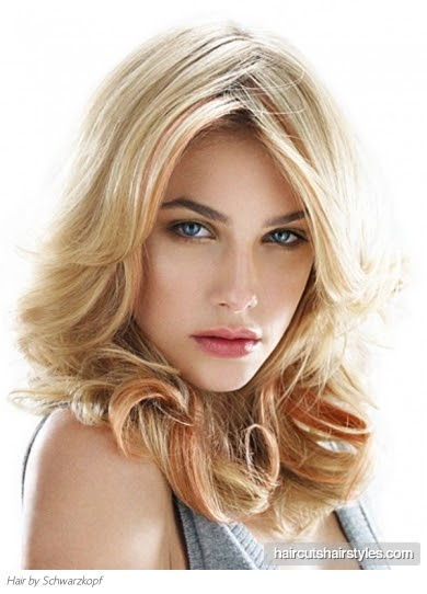 Kafgallery Celebrity Flirty Long Hairstyles Of 2012