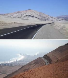 Ruta 5: Arica ke Iquique Road