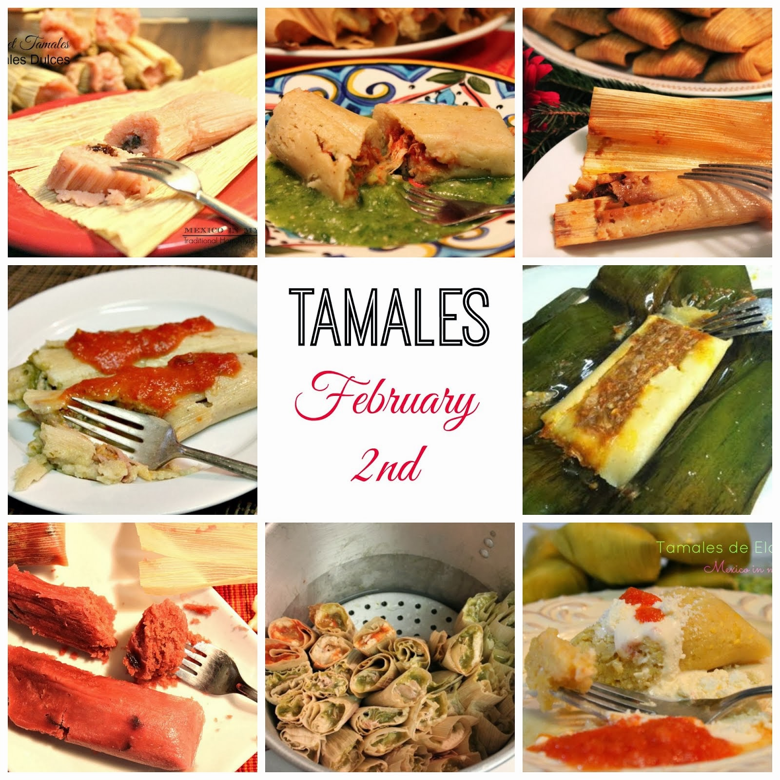 TAMALES? CHECK THE RECIPE SECTION