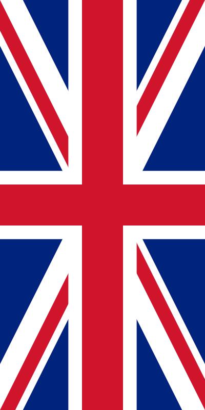 bandera del Reino Unido para imprimir
