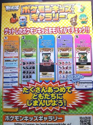 Pokemon Kids Gallary Bandai