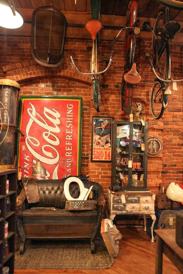 Retro Man Cave Furniture : Chad s drygoods antique archaeology american pickers