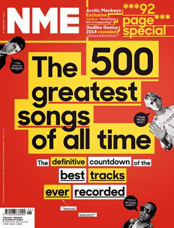 Las mejores 500 canciones de la historia según New Musical Express (NME)