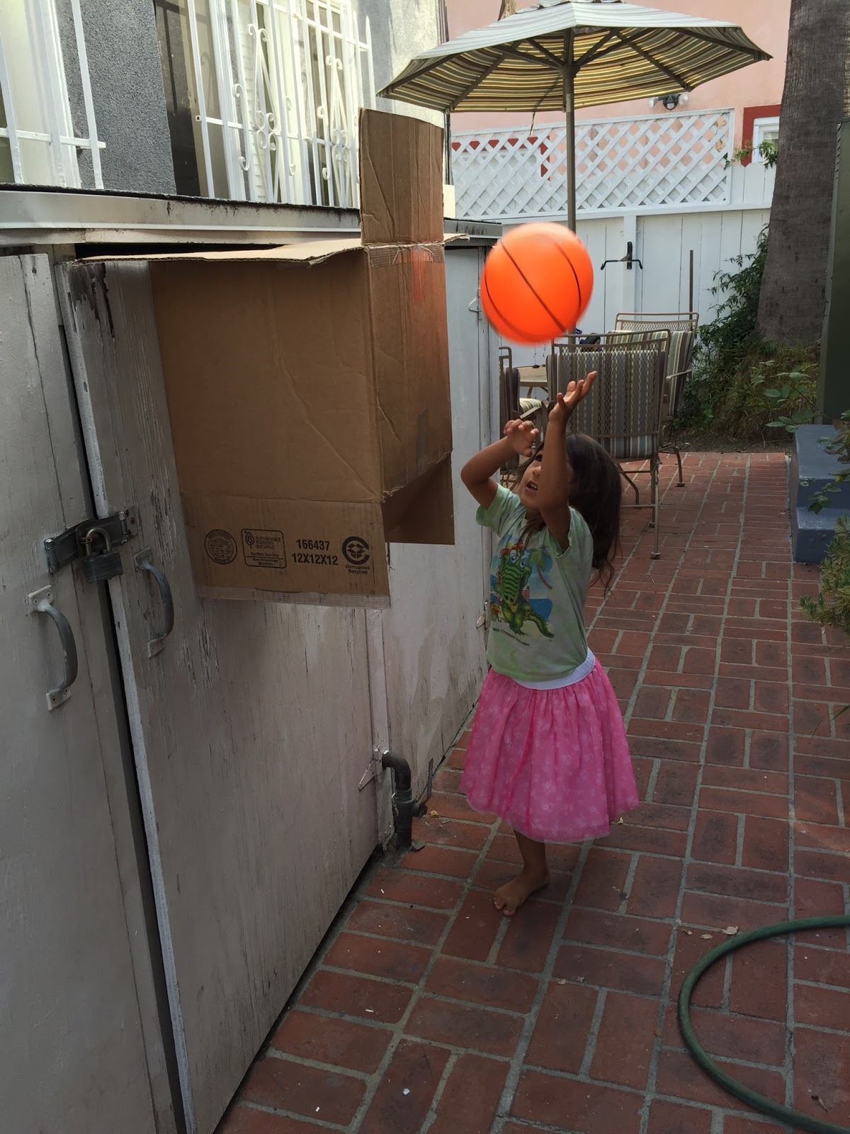Charlotte mason in santa monica how to make a basketball for How to build a basketball goal