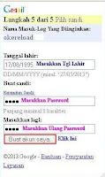 Petunjuk Pembuatan Email di Gmail Melalui HP