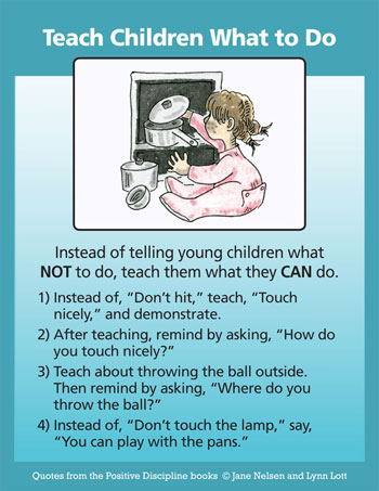 Ways to Discipline