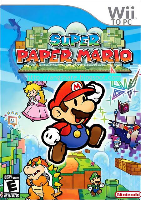 Super Paper Mario Dolphin Emulator