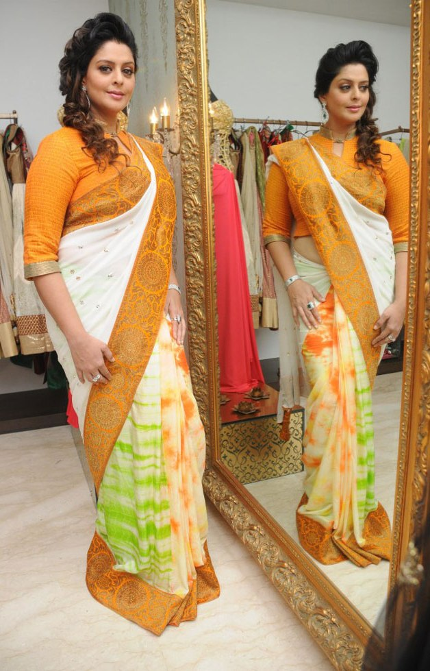Actress Nagma Saree Photos