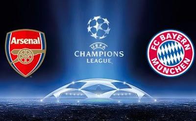 Munchen lawan Arsenal