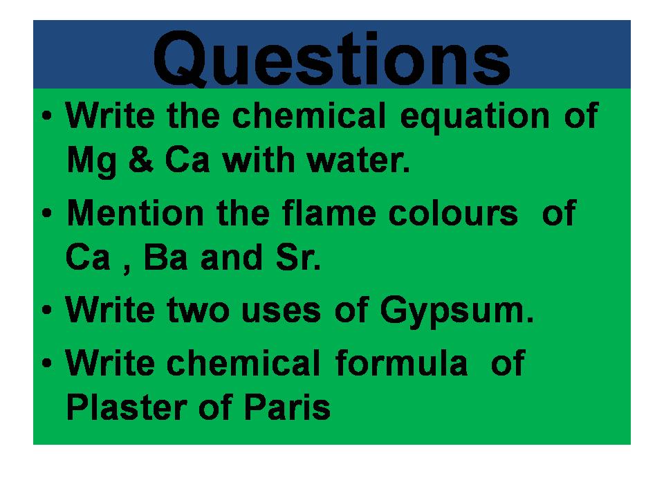 Grade 11 Chapter2 Group 2 Elements Semester2