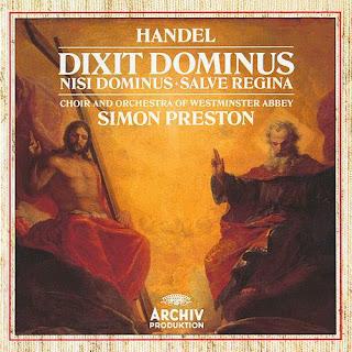 Handel: Dixit Dominus, HWV 232; Nisi Dominus, HWV 238; Salve Regina, HWV 241
